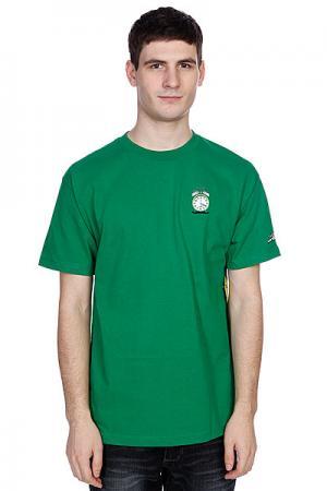 Футболка  4 Dots 20 Kelly Green Cliche. Цвет: зеленый