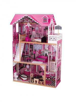 Кукольный домик Амелия KidKraft. Цвет: розовый