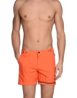 Шорты для плавания DANWARD. Цвет: оранжевый