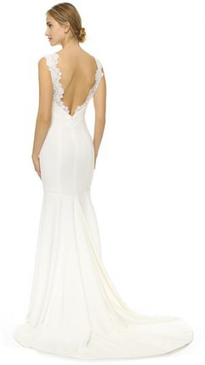 Вечернее платье Nad Theia. Цвет: золотой