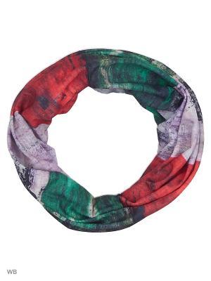 Мультишарф ozozylo. Цвет: зеленый, голубой, красный