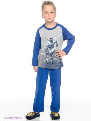 Пижама Sanetta. Цвет: синий