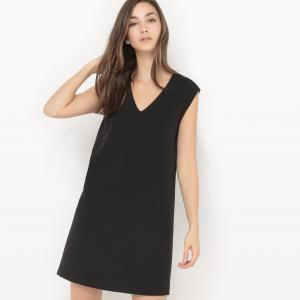 Платье с открытой спинкой Cezanne SUNCOO. Цвет: черный