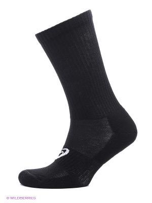 Носки, 3 пары CREW SOCK ASICS. Цвет: черный