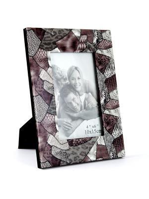 Фоторамка для фото Русские подарки. Цвет: темно-серый, серебристый