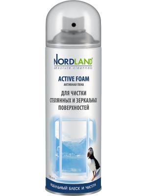 Nordland пена для чистки зеркальных и стеклянных поверхностей, 500 мл.. Цвет: белый