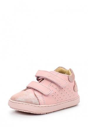 Ботинки Chicco. Цвет: розовый