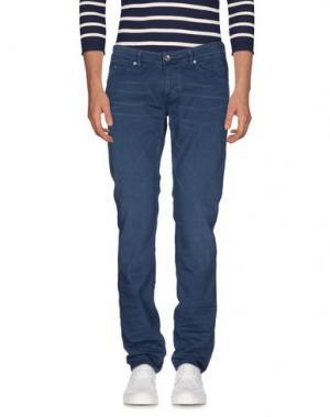 Джинсовые брюки MELTIN POT. Цвет: грифельно-синий