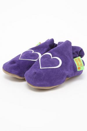 Туфли домашние Funky Feet Fashions™. Цвет: фиолетовый