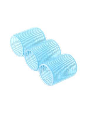 Бигуди (3 шт.) Migura. Цвет: голубой