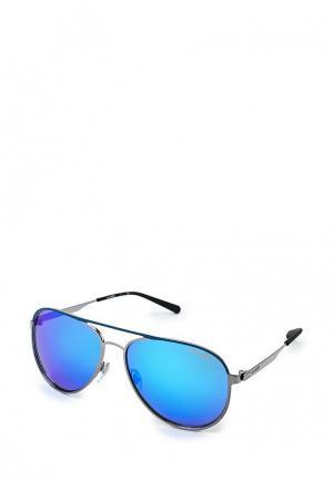 Очки солнцезащитные Arnette. Цвет: голубой