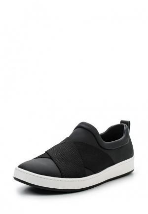 Слипоны DKNY. Цвет: черный
