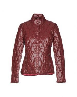 Пуховик BPD BE PROUD OF THIS DRESS. Цвет: какао