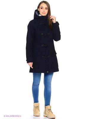 Пальто демисезонное Tenson. Цвет: синий