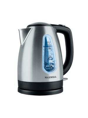 Чайник электрический Maxwell MW-1019(BK). Цвет: черный, серебристый