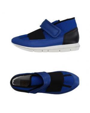 Высокие кеды и кроссовки O.X.S.. Цвет: ярко-синий