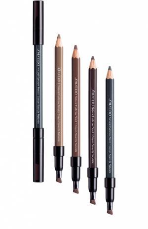 Натуральный контурный карандаш для бровей BR603 Shiseido. Цвет: бесцветный