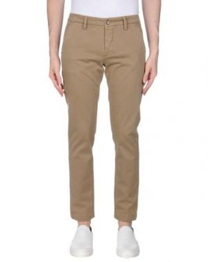 Повседневные брюки TELERIA ZED. Цвет: хаки