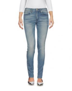 Джинсовые брюки BEATRICE. B. Цвет: синий