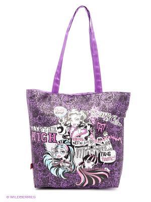 Сумка Monster HighMonsters Friendship Daisy Design. Цвет: фиолетовый