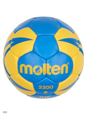 Мячи Molten. Цвет: синий, желтый