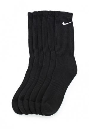 Комплект носков 6 пар Nike. Цвет: черный