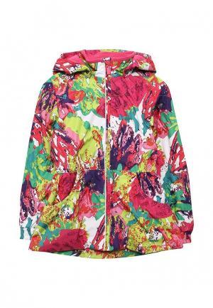 Куртка утепленная Huppa. Цвет: разноцветный