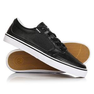 Кеды кроссовки низкие  Lowdown Black Gravis. Цвет: черный