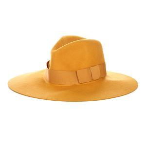 Шляпа женская  Piper Hat Mustard Brixton. Цвет: коричневый