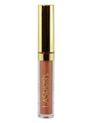 Жидкая матовая помада для губ Lip Couture, оттенок 14224 медный беж LASplash. Цвет: персиковый