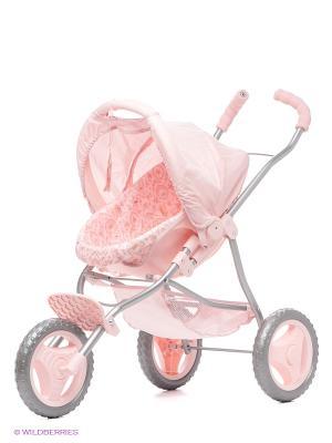Коляска/переноска ZAPF. Цвет: бледно-розовый