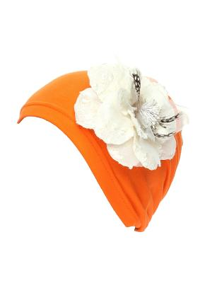 Бандана Jane Flo. Цвет: оранжевый