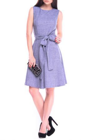 Платье Dioni. Цвет: фиолетовый, дымка