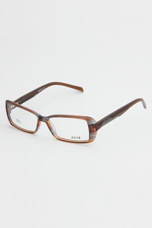 Очки корригирующиеКорригирующая оправа Exte. Цвет: коричневый