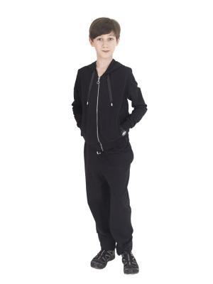 Спортивный костюм TINYFOX. Цвет: черный