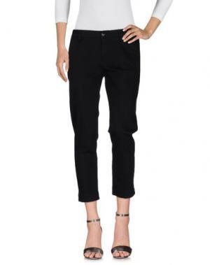 Джинсовые брюки KAOS. Цвет: черный