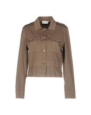 Куртка FAIRLY. Цвет: хаки