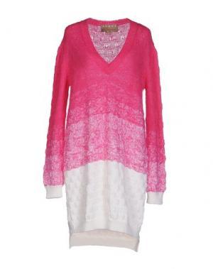 Короткое платье SPACE. Цвет: розовый