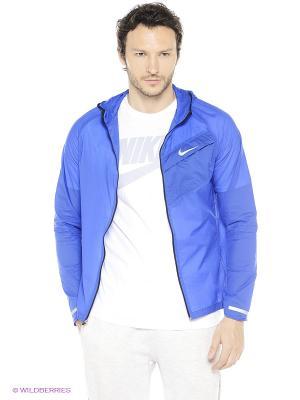Ветровка IMPOSSIBLY LIGHT JACKET Nike. Цвет: голубой