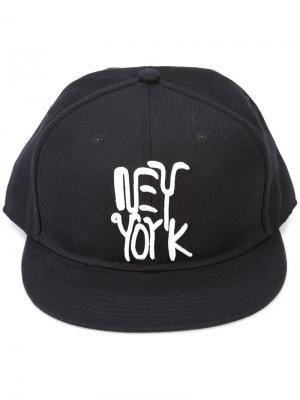 Кепка New York Haculla. Цвет: чёрный