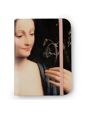 Флорентийская записная книжка. Флора Власта. Цвет: бежевый, розовый, черный