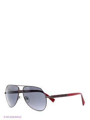 Солнцезащитные очки BLD 1518 102 Baldinini. Цвет: бордовый, серый