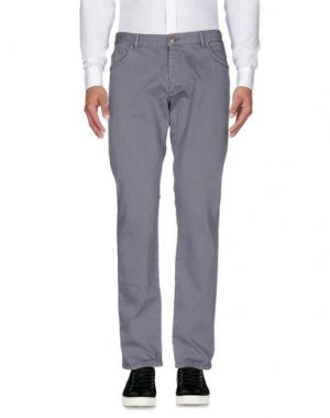 Повседневные брюки ALV ANDARE LONTANO VIAGGIANDO. Цвет: серый