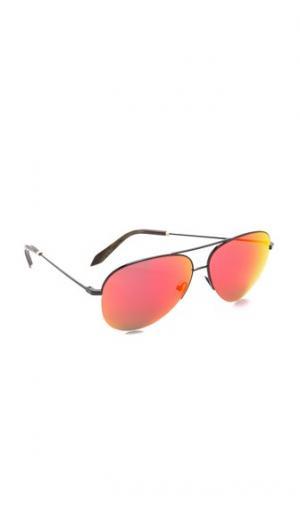 Классические солнцезащитные очки Victoria Beckham