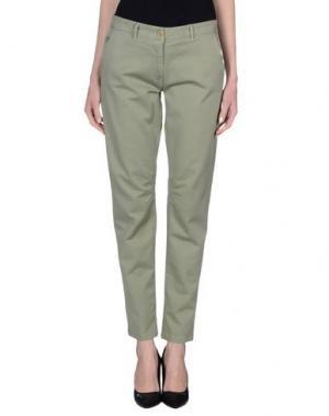 Повседневные брюки AERONAUTICA MILITARE. Цвет: зеленый-милитари