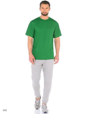 Футболка Агат. Цвет: зеленый
