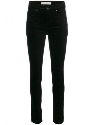Вельветовые брюки скинни D.Exterior. Цвет: чёрный