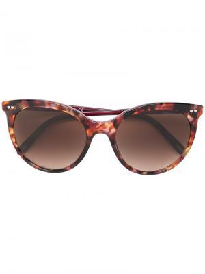 Очки кошачий глаз с узором Tiffany & Co.. Цвет: коричневый