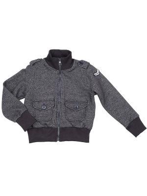 Куртка Mini Maxi. Цвет: темно-серый