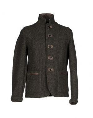 Куртка DACUTE. Цвет: зеленый-милитари